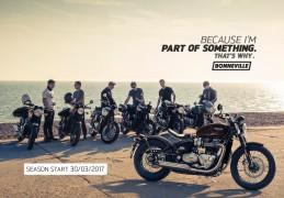 Découvrez les beautés britanniques en direct: Triumph lance la saison moto le 30 mars